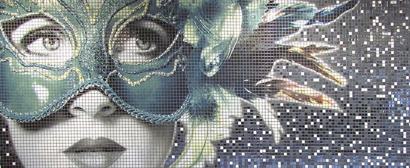 Impressão digital de mosaico