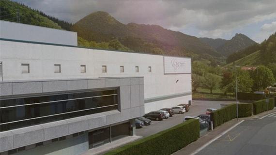 Planta de produção de Ezarri em Lazkao