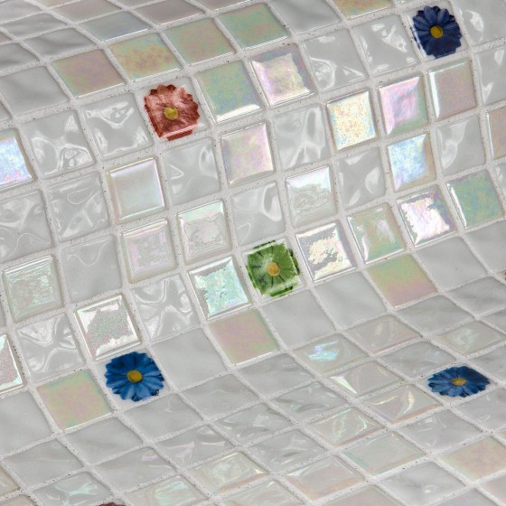 Mosaico Topping Flowers - Ezarri