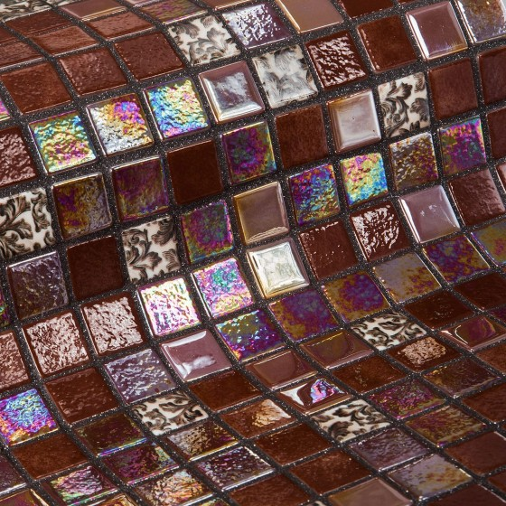Mosaic Tile Topping Choco Bits - Ezarri