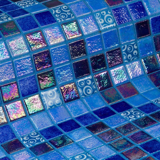 Mosaico Topping Blueberries  - Ezarri