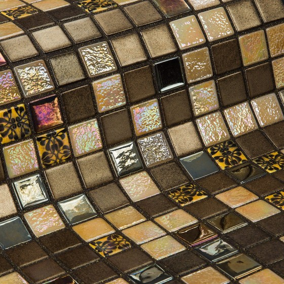 Mosaic Tile Topping Almonds - Ezarri