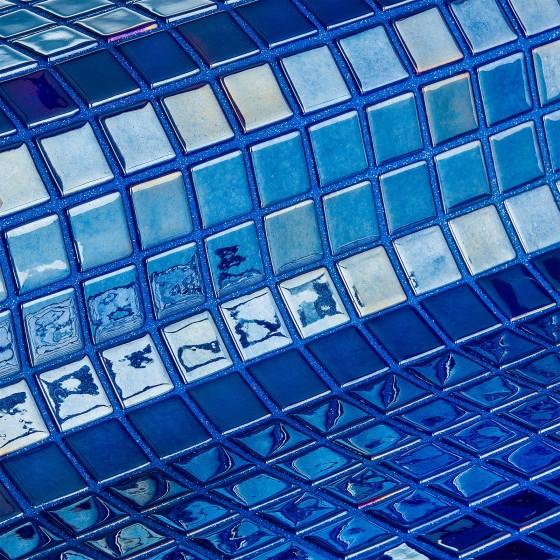 Mosaic Tile Metal Azurita - Ezarri
