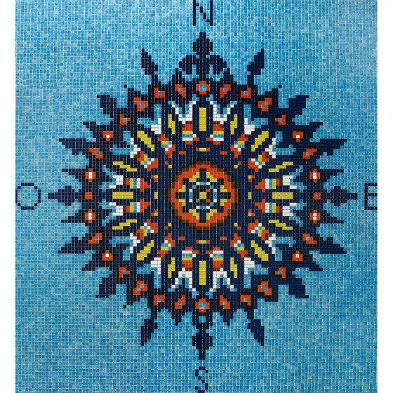 Dibujo en mosaico D-11 - Ezarri