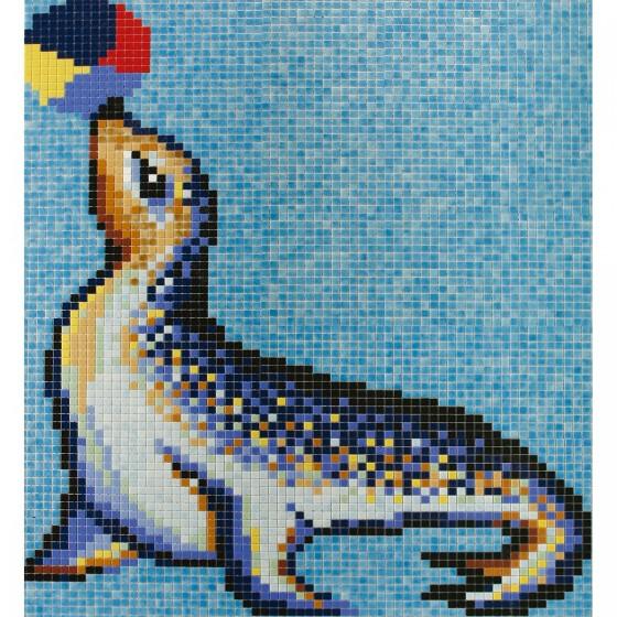Dibujo en mosaico D-12 - Ezarri