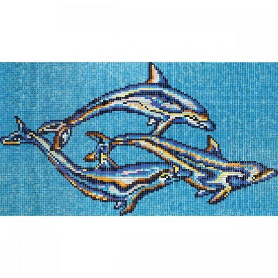 Dibujo en mosaico D-14 - Ezarri