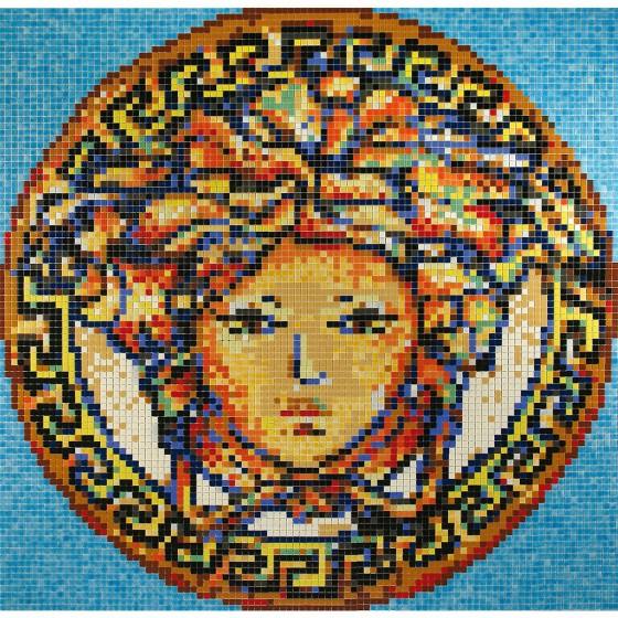 Dibujo en mosaico D-56 - Ezarri