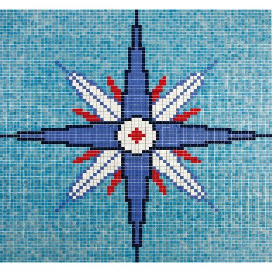 Dibujo en mosaico D-6 - Ezarri