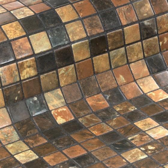 Mosaic Tile Zen Riverstone - Ezarri