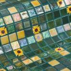 Mosaic Tile Topping Marigold - Ezarri
