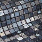 Mosaic Tile Topping Silver Bits - Ezarri