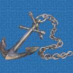 Dibujo en impresión digital Anchor en Mosaico - Ezarri
