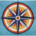 Dibujo en mosaico D-18 - Ezarri