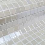 Mosaic Tile Metal Nickel - Ezarri