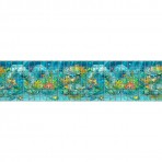 Digital printing image Sea Life Border in Mosaic Tiles - Ezarri