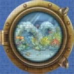 Dibujo en impresión digital Sea View en Mosaico - Ezarri