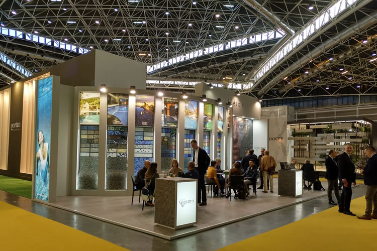 Success in number of visits to Ezarri stand at Cevisama 2019