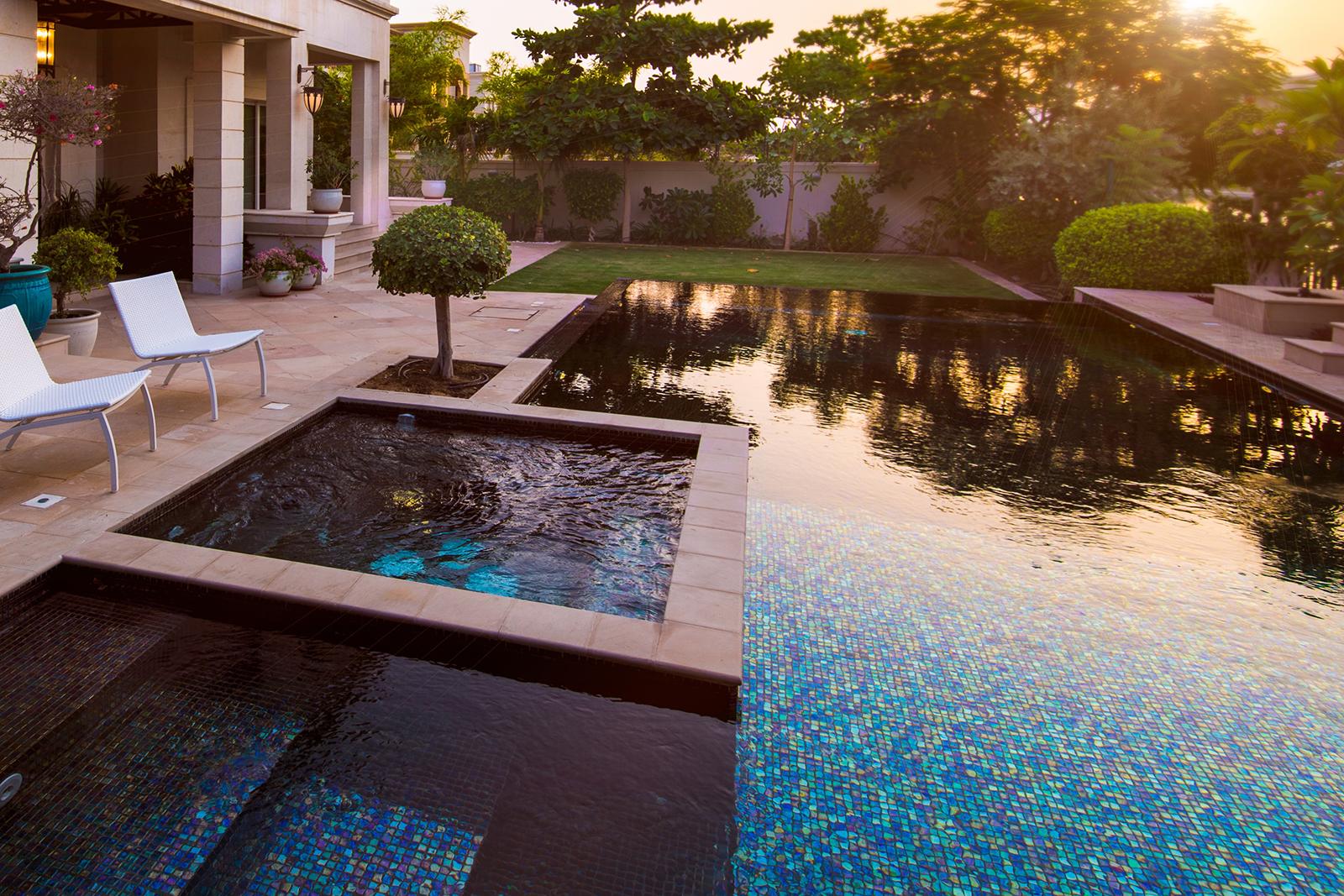 De quelle couleur verra-t-on l'eau de ma piscine?