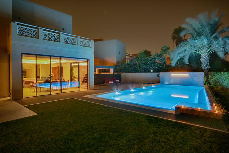 Une piscine privée à Dubaï
