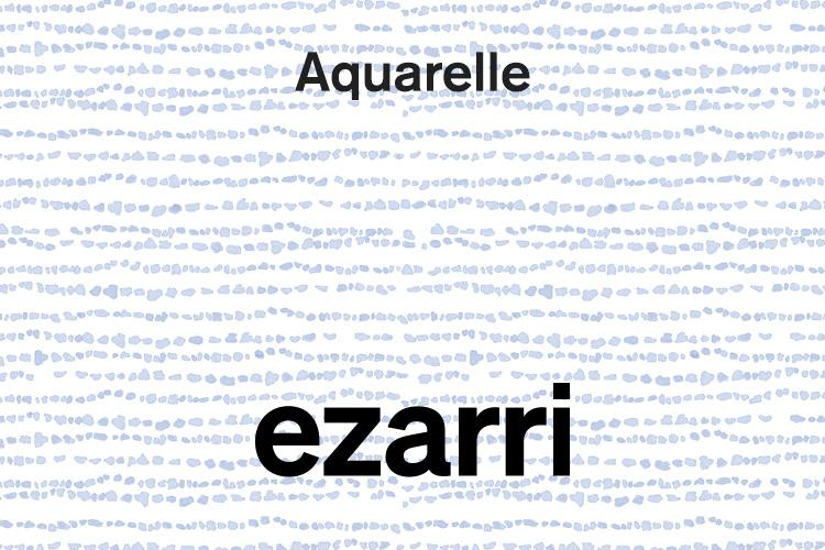 Aquarelle, une suggestive connexion nature-eau