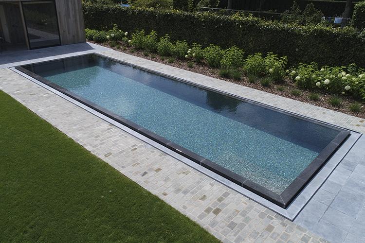 An Ezarri swimming pool in Flanders