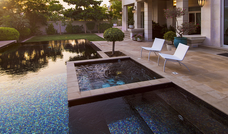 Gresite para piscinas o mosaico v treo ventajas ezarri - Gresite piscinas colores ...