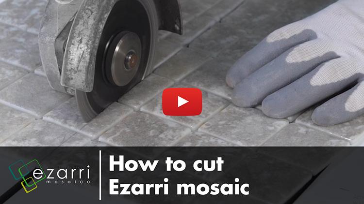 Cómo cortar el mosaico Ezarri