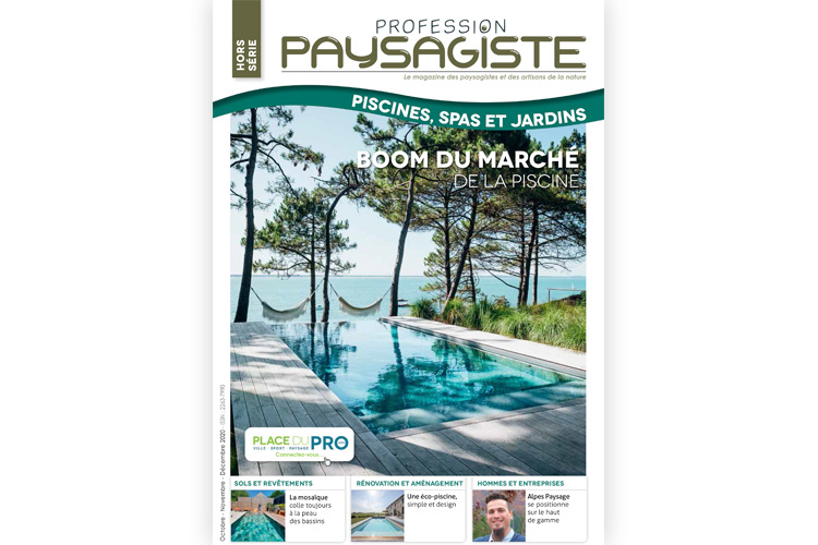 Paysagiste Piscines Oct-Nov-Déc 2020