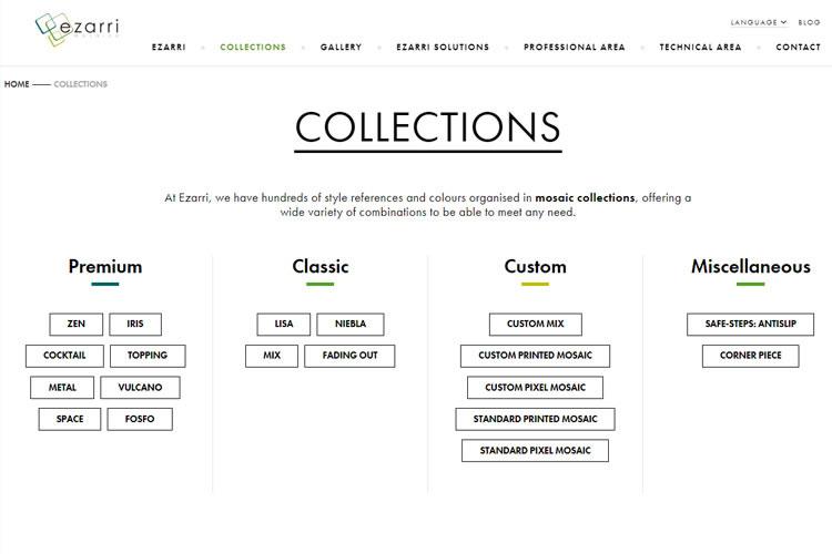 Collections d'Ezarri