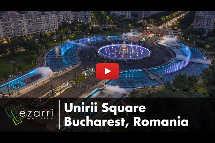 Plaza Unirii - Bucarest, Romania