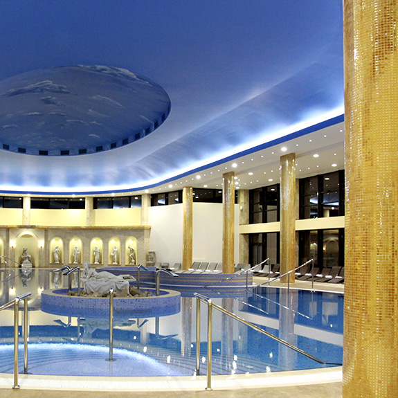 Mosaico Piscina Hotel Izvor - Serbia - Ezarri