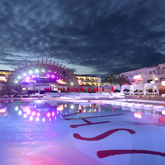 Mosaic - contract - project - Hotel Ushuaia Beach Ibiza - Ezarri
