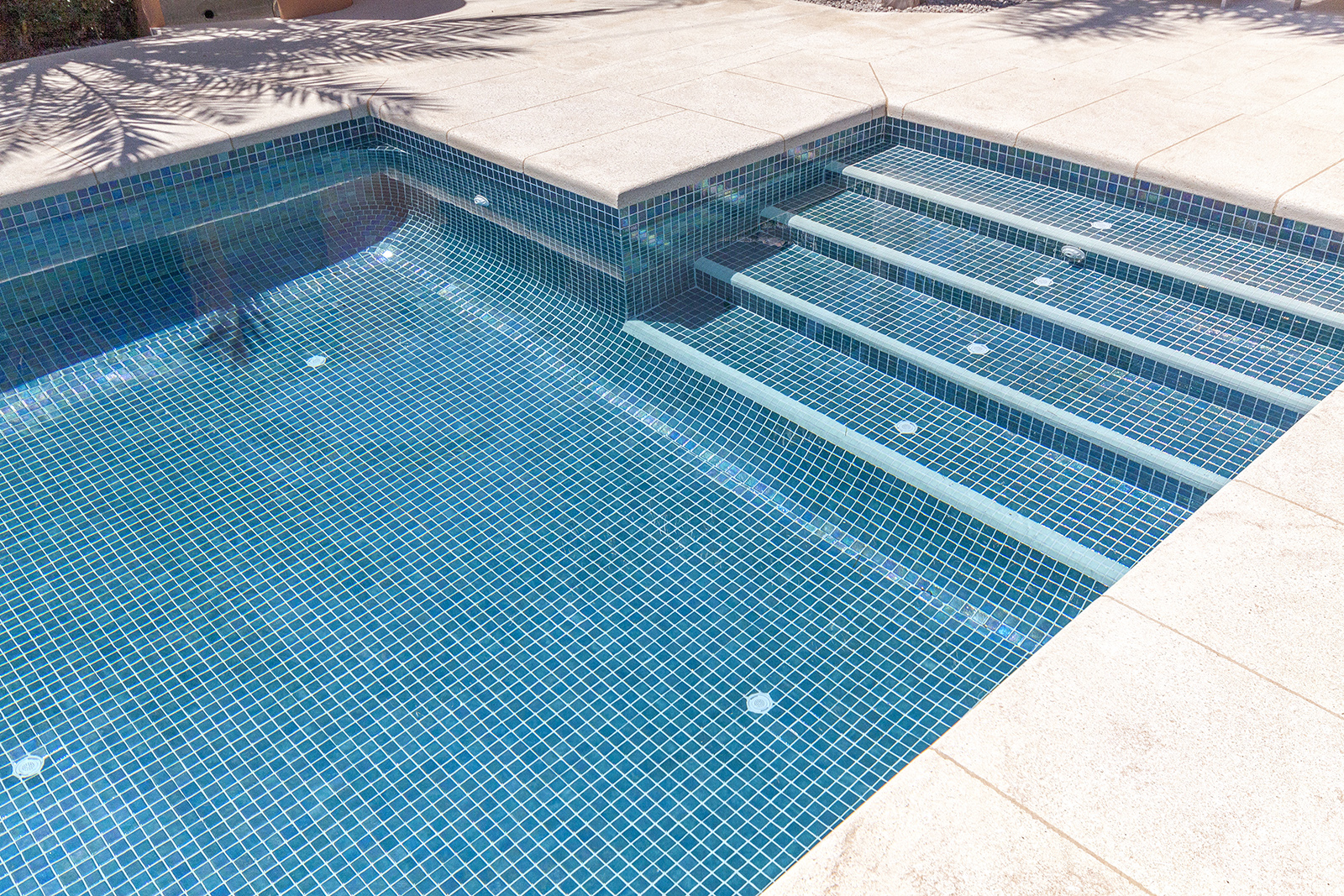 Mosaic Tiles for swimming pools - Ezarri