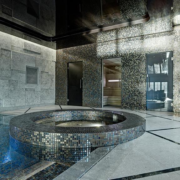 Mosaico Piscina Villa Privada en Batley UK - Ezarri